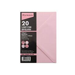 Ryman Envelopes For Cards 175x127mm Pack of 20