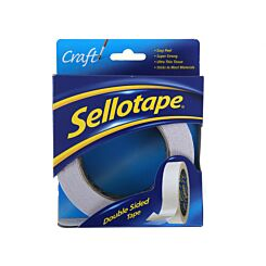 Sellotape Easy Peel Double Sided Tape 25mm x 33m