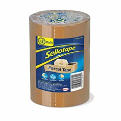 Sellotape Parcel Tape Tower 48x50mm Pack of 3