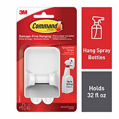 Command Spray Bottle Hanger