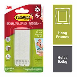 Command Picture Hanging Strips Narrow 17207