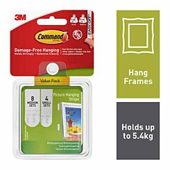 Command Picture hanging Strips Combo Pack 17203