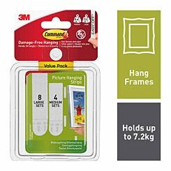 Command Picture and Frame Hanging Strips