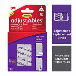 Command Adjustables 18 Refill Strips