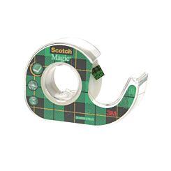 3M Scotch Magic Tape 19mm x 7.5m with Dispenser