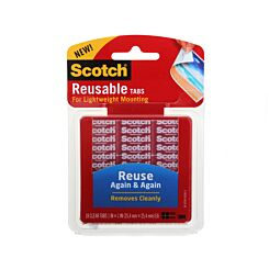 3M Scotch Reusable Tabs Pack of 18