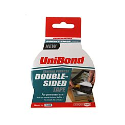 Unibond General Purpose Double Sided Tape 38mm x 5m