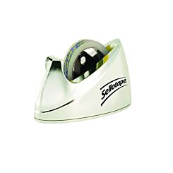 Sellotape Dispenser Large Chrome