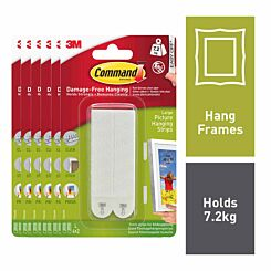 Command Picture Hang Strips Large 6 Packs of 4 Strips