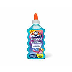 Elmers Glitter Glue 177ml Blue