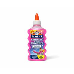 Elmers Glitter Glue 177ml Pink