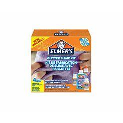 Elmers Glitter Slime Kit 4 Piece