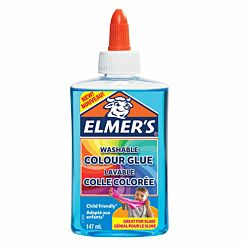 Elmers Washable Colour Glue 147ml