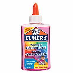 Elmers Washable Colour Glue 147ml Translucent