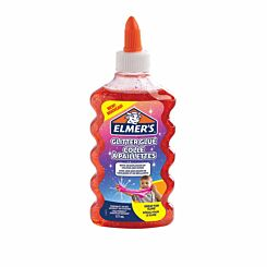 Elmers Glitter Glue 177ml Red