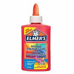Elmers Colour Glue 147ml Opaque