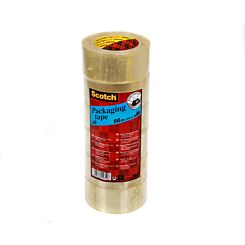 Scotch Packaging Tape Tower 6 Rolls