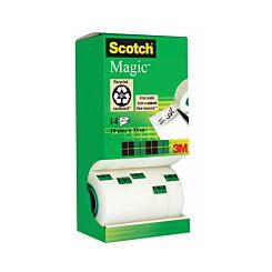 Scotch Magic Tape 19mmx33m Pack of 14