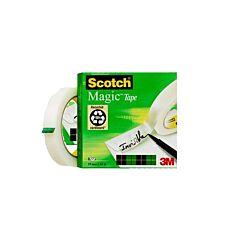 Scotch Magic Tape 19mm X 66m  Pack 12