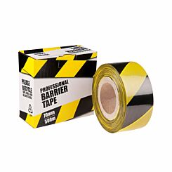 Barrier Tape Black and Yellow
