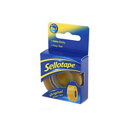 Sellotape Golden 18mm x 25m Pack of 8