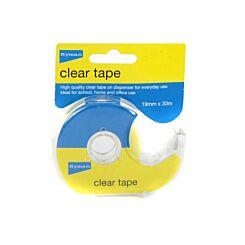 Ryman Clear Tape 19mm x 33m On Dispenser
