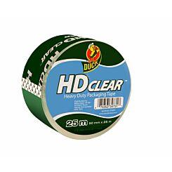 Duck Heavy Duty Packaging Tape 50mmx25mm Clear