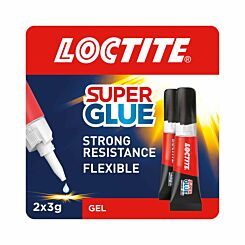 Loctite Super Glue Power Gel 3g Pack of 2