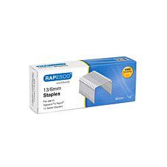 Rapesco 13/6mm Galvanised Staples Box 5000