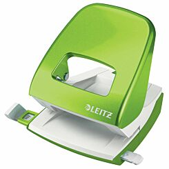 Leitz WOW Metal Hole Punch Green