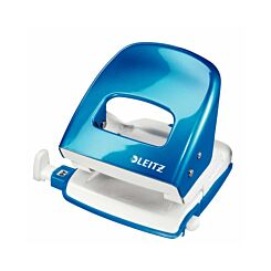 Leitz WOW Metal Hole Punch  Blue