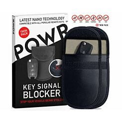 POWR RFID Signal Blocking Pouch Twin Pack