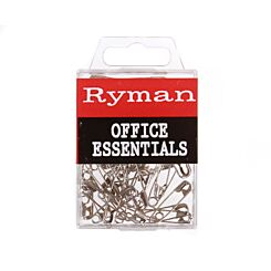 Ryman Safety Pins Pack of 30
