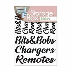 Storage Stickers Bits and Bobs