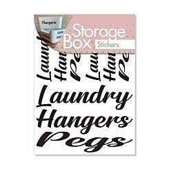 Storage Stickers Laundry