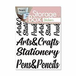Storage Stickers Arts and Crafts