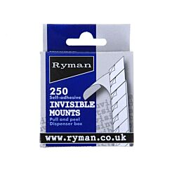 Ryman Self Adhesive Invisible Photograph Mounts