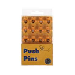 Push Pins Pack of 20 Bees