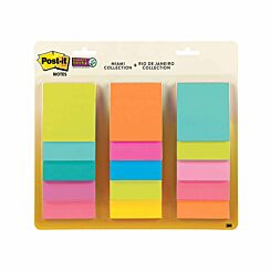 Post-it Super Sticky Waterfall Miami and Rio de Janeiro