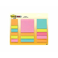 Post-it Super Sticky Waterfall Pack of 15