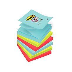 Post-it Super Sticky Z-Notes Miami 76x76mm Pack of 6