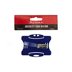 Ryman Security Pass Holder Blue
