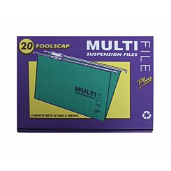 Multifile Suspension Foolscap Box of 20