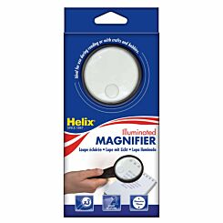 Helix Illuminated Magnifying Glass with 3x Primary 8x Secondary