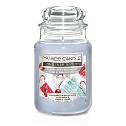 Yankee Candle Home Inspiration Large Jar Snowflakes and Sleighrides