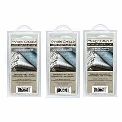 Yankee Home Inspirations Wax Melts Luxurious Cashmere Pack of 3
