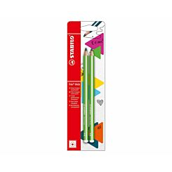STABILO Trio thick HB Colouring Pencils Pack of 2