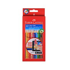 Faber Castell Grip Coloured Pencils Pack of 12