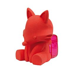 Westcott 3D Animal Eraser With Sharpener Red