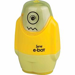 Serve E-Bot Eraser and Sharpener